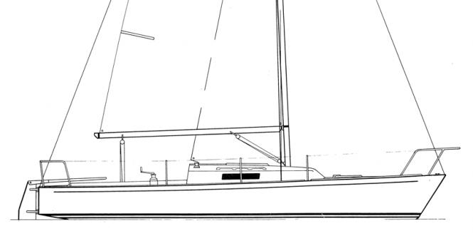 J/27 Profile Drawing