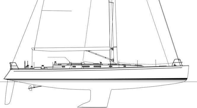 J/65 Profile Drawing